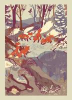 Fisher Fox by teaganwhite