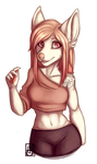 Commission for Eryk #02 by Felidre