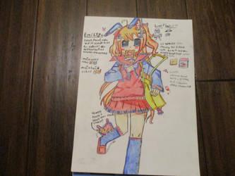 Cute Bunny Character! ~ Emily by ARaeann123