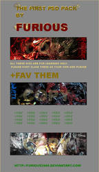 3 PSD PACK BY FURIOUS by Furious2005