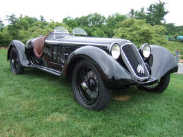 1929 Alfa Romeo 6C 1750SS Gran Tourismo by Aya-Wavedancer