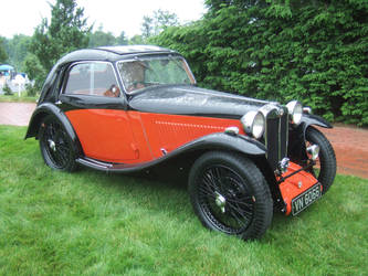 1935 MG PA Airline Coupe by Aya-Wavedancer