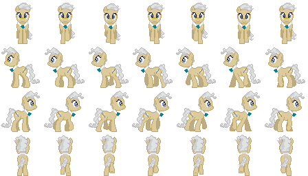 RPG Maker MV Sprites-Mayor Mare by BlackLiquidSrw on DeviantArt