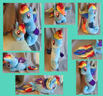 Rainbow Dash Sea Ponies 80s and Movie Style by Emilou1985