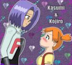 Kojiro and Kasumi by Jezrocket