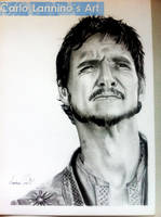 Oberyn Martell Portrait finish! by carlolanni