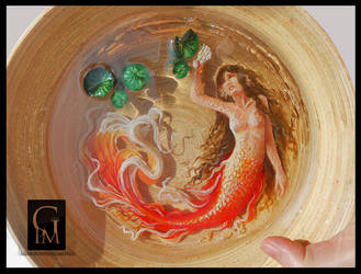 Mermaid in a bowl by GloriaPM
