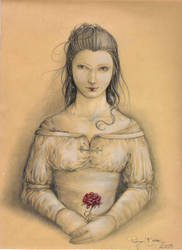 The Last Rose by Diguera