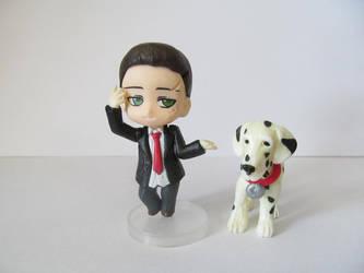 Custom Nendoroid Petite - DP - York and Wullie by Shakahnna