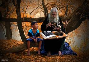 Storyteller Wizard by Rowdy-Dawg