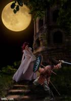 Blood Moon Duel by Rowdy-Dawg