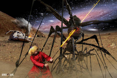 Attack Of The Daddy Long Legs by Rowdy-Dawg
