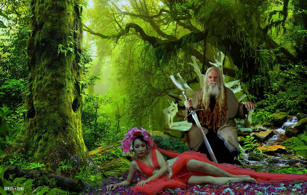 Elven Royalty by Rowdy-Dawg
