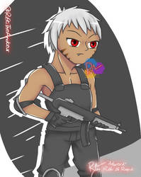 Holding MP5 by RifkiTheAmateur