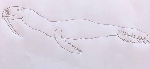 WTG Kaiju profile- Maguma by DINOTASIA123