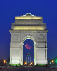 Red Moon by nimitnigam