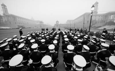 Naval Officers from Republic Day by nimitnigam
