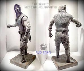 Sub-Zero Statue (40 cm/15 inches) by OliQuake