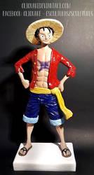 Monkey D. Luffy One Piece by OliQuake