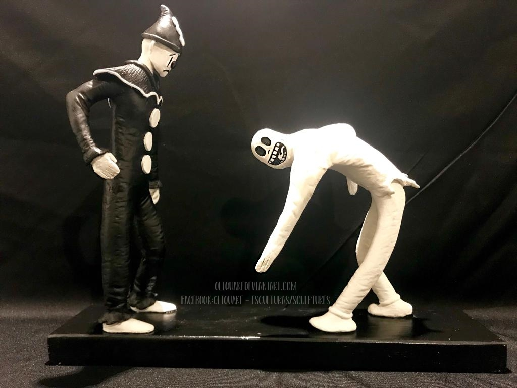 Ko-Ko The Clown Ghost (GhosteMane) by OliQuake