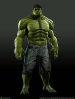 The Incredible Hulk by montyband