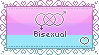 I am Bisexual Stamp by faetherflight