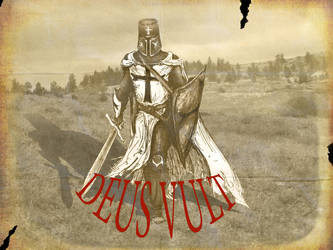 DEUS VULT (with text) by thee-a-10