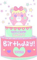 Happy Birthday Keyla by shiropanda