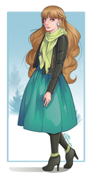 Elica 'Elli' Caron [Eclair Express] by LittleNightingale