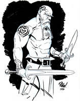 Tatooed warrior by Wieringo