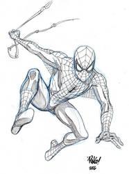 SPIDER-MAN sketch by Wieringo