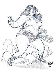 BIG WONDER WOMAN by Wieringo