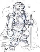 LION WARRIOR by Wieringo