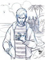 CHARLIE from LOST by Wieringo