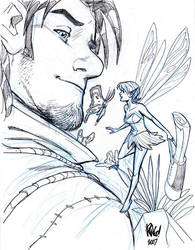 HAWKE and DANI by Wieringo