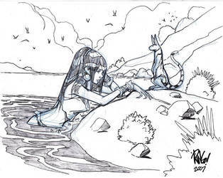 BY THE SEA one more time... by Wieringo