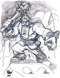 TUNRING -- TELLOS bad guy by Wieringo