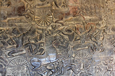 Angkor Wat Bas Relief 2 by firenze-design