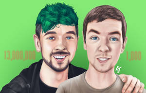 Jacksepticeye - Then and Now - 13 Million Subs by KJNeely