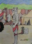 Random wolf by Lastrise