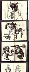 quickie ink sketches by MichaelDooney