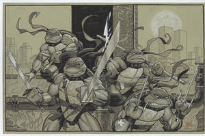 TMNT group shot final by MichaelDooney