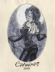 Catwoman 1887 by MichaelDooney