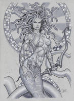 Medusa by MichaelDooney
