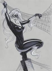 Black Cat is back by MichaelDooney