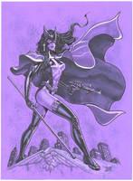 Huntress purple by MichaelDooney
