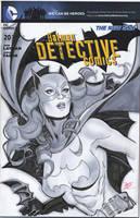 Batgirl blank cover by MichaelDooney