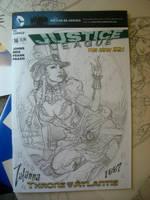 Zatanna cover SDCC 2013 by MichaelDooney