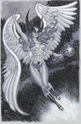 Big Hawkgirl NYCC 2013 by MichaelDooney