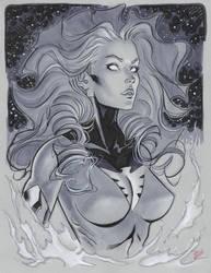 Phoenix con drawing by MichaelDooney